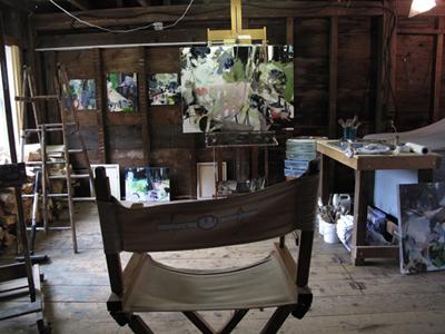 Studio Views: Morgan Russell