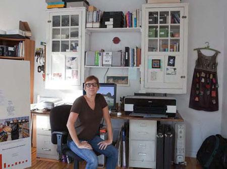 Studio Views: Edie Bresler