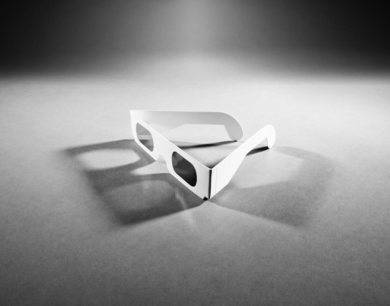 Matthew Gamber, 3D GLASSES (2010), Digital Silver Gelatin Print, 20x24 in