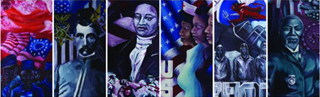 Black History Month Art Exhibit at MA State House
