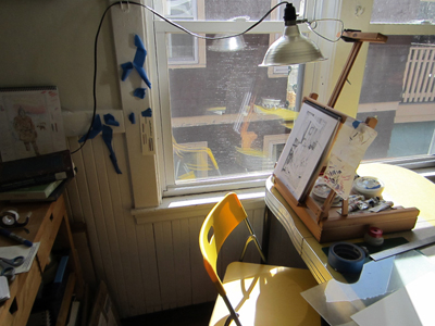 Studio Views: Ria Brodell