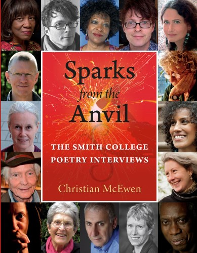 Cover art for SPARKS FROM THE ANVIL, edited by Christian McEwen (Bauhan 2015)