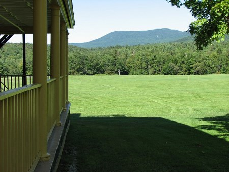 View of Bread Loaf Mountain, photo by Don Shall