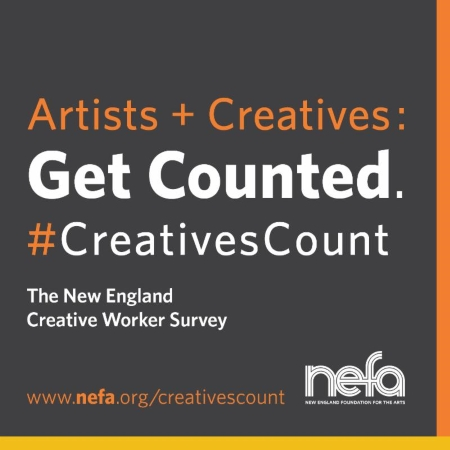 Creatives Count, the artists and creative workers survey from NEFA