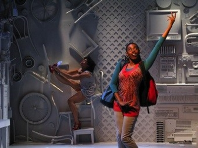 From the Off-Broadway production of EXPATRIATE by Lenelle Moise, photos by Vanessa Vargas