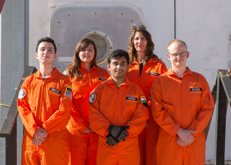 Cassandra Klos, MDRS CREW, from the MARS ON EARTH series