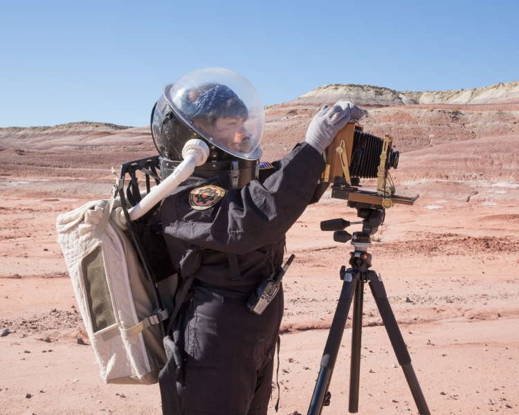 Cassandra Klos, Self-Portrait, from the MARS ON EARTH series