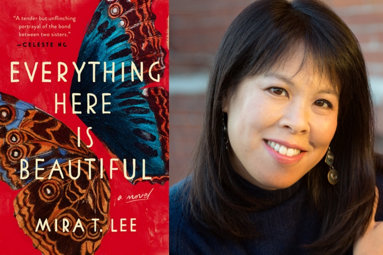 Cover art for EVERYTHING HERE IS BEAUTIFUL (Viking/Penguin 2018); Mira T. Lee.
