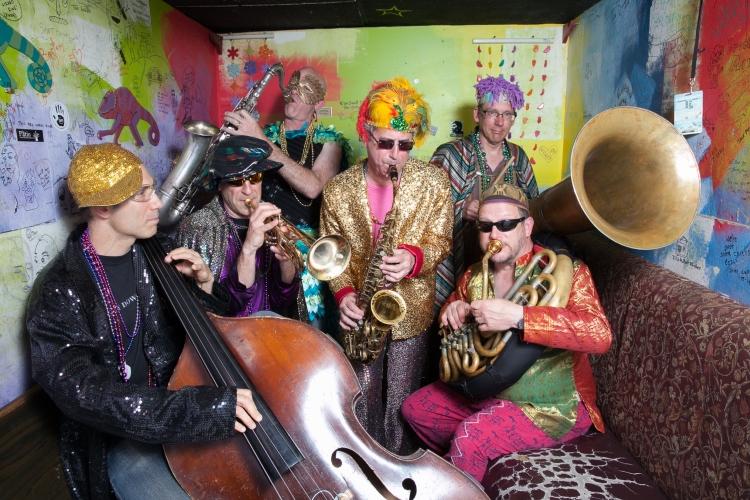 The Revolutionary Snake Ensemble, photo by Jean Hangarter.