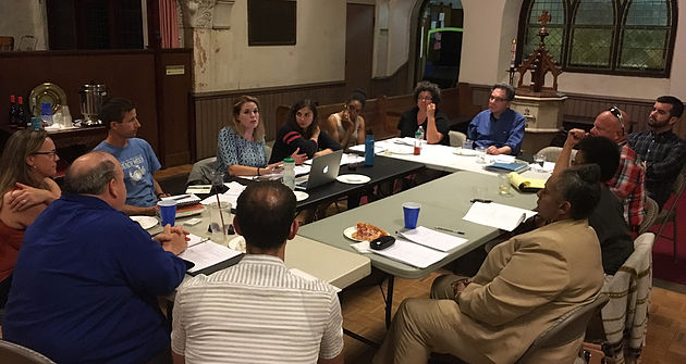 Open Theatre Project's table reading of AN EDUCATION IN PRUDENCE