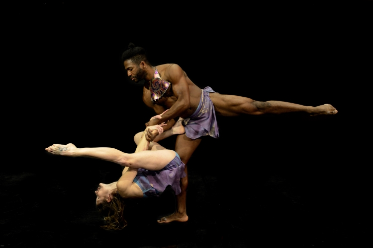From THE WILD DIVINE by Deborah Abel Dance Company. Photo copyright: Eric Antoniou.