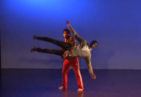 Still image from WAYS OF RENDERING A MAN BLIND, choreography by Michael Figueroa (Choreography Finalist '18)