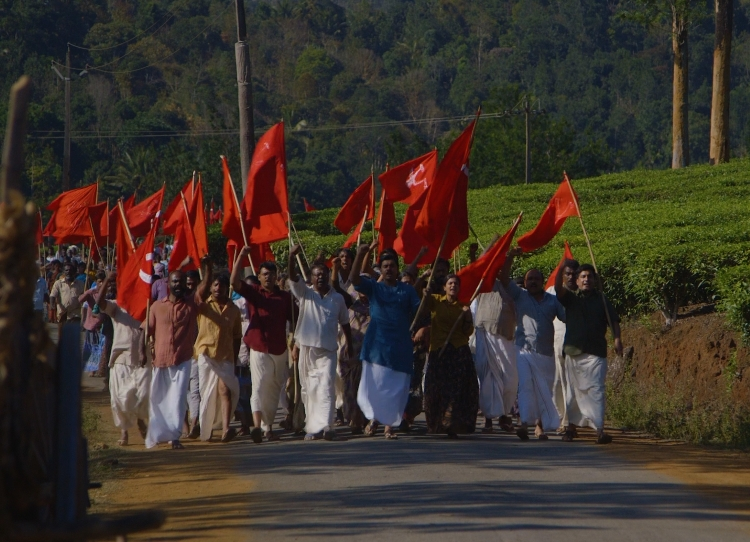 Still image from STALIN, LENIN, AND OTHER TALES FROM SOUTH INDIA, a film-in-progress by Kavita Pillay