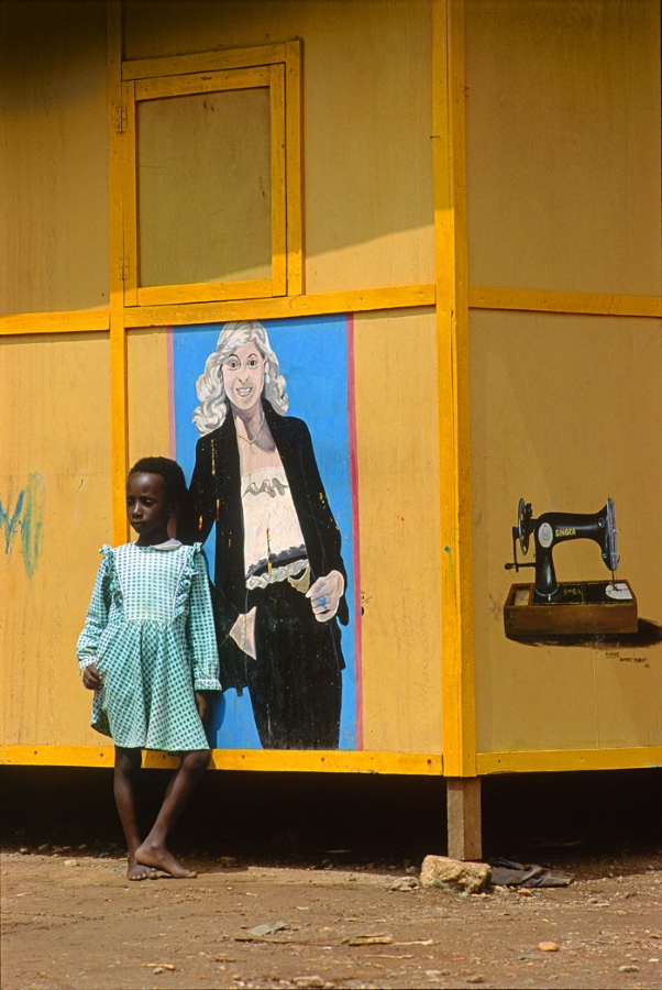 Cary Wolinsky, AGBOZUME, GHANA, AUGUST 4, 1992, Archival Pigment Print, 27 x 18 in