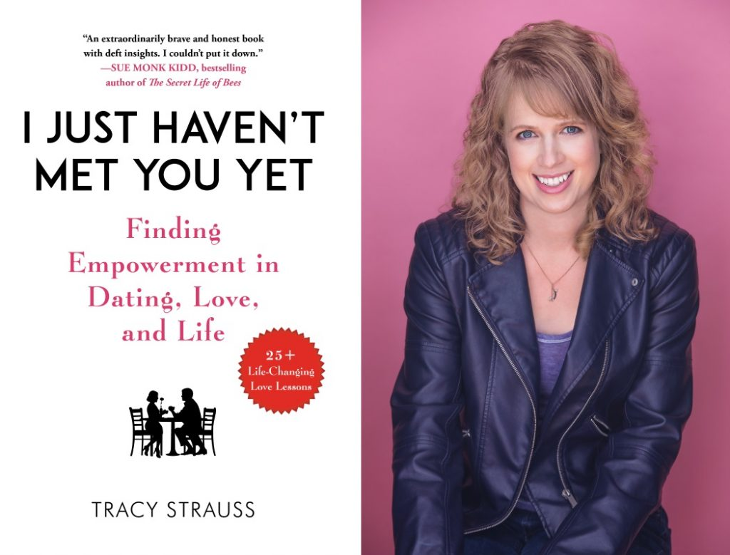 Cover art for I JUST HAVEN'T MET YOU YET (Skyhouse 2019); Tracy Strauss, photo by Nile Hawver/Nile Scott Studios.