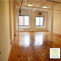 Buckets of Light, $8/square foot, 790-1370 sq. ft Creative Spaces Available